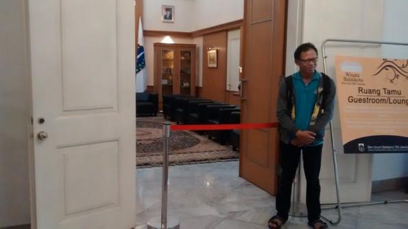 Ruang Penerimaan Tamu Gubernur