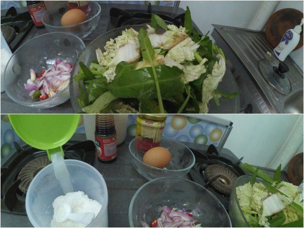 Bahan Oseng-oseng yang siap masak