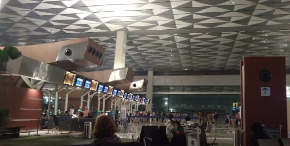 Suasana Terminal 3 Sooekarno-Hatta