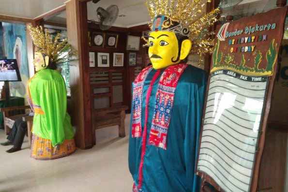 Pintu Restoran Bandar Jakarta Ancol