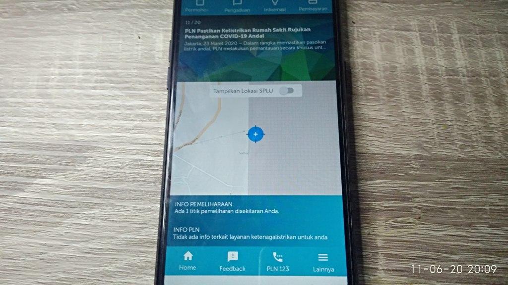 Melaporkan Mati Listrik melalui PLN Mobile